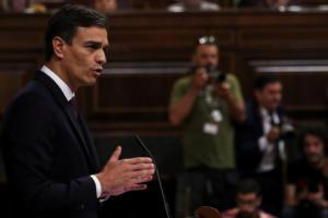 Ισπανία: Σοκ για τον σοσιαλιστή πρωθυπουργό Πέδρο Σάντσεθ – Έχασε κρίσιμη ψηφοφορία