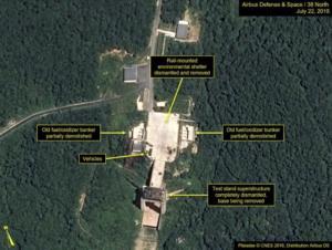 Η Πιονγκγιάνγκ κατεδαφίζει εγκαταστάσεις σε πεδίο δοκιμών πυραύλων