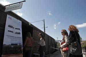 Δεκαήμερο απεργιακών κινητοποιήσεων στον σιδηρόδρομο