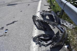 Κρήτη: Σε σοβαρή κατάσταση μοτοσικλετιστής μετά από τροχαίο στα Χανιά