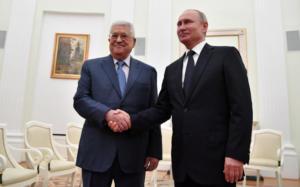 Κρεμλίνο: Τον Παλαιστίνιο πρόεδρο Μαχμούντ Αμπάς δέχτηκε ο Βλαντιμίρ Πούτιν