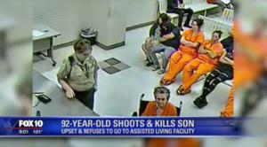 Σοκ στις ΗΠΑ: 92χρονη σκότωσε το γιο της για να μην πάει στο γηροκομείο