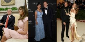 «Πράσινη» γοητεία: Οι καλλονές σύζυγοι πλούσιων αντρών! Από την Ζιζέλ μέχρι και την Σάλμα Χάγιεκ