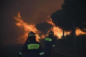 Φωτιά στην Αττική: Ρεκόρ 8ετίας έσπασαν οι ριπές ανέμου την ώρα του «κακού»