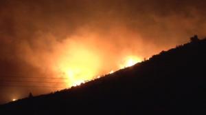 Σε εξέλιξη πυρκαγιά σε πευκοδάσος στην περιοχή της Λευκίμης του δήμου Σουφλίου