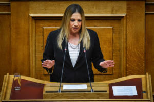 Φώφη Γεννηματά: «Εμείς λέγαμε εκλογές τώρα, ο Μητσοτάκης εκλογές το φθινόπωρο»