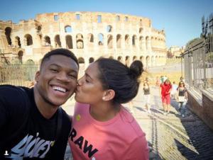 Ερωτευμένος στη Ρώμη ο Αντετοκούνμπο! Η ρομαντική ανάρτηση με την αγαπημένη του [pic]