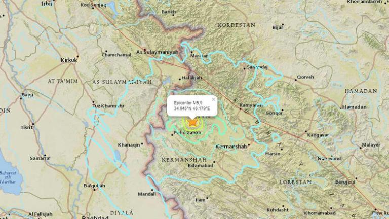 Σεισμός 5,9 Ρίχτερ στο Ιράν – Δεκάδες τραυματίες | Newsit.gr