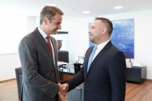 Μητσοτάκης: Θα ενημερώσω μέσα στη μέρα τον κ. Βούτση για την ένταξη του Γιώργου Κατσιαντώνη στη ΝΔ