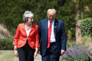 «Σπιουνιές» του Τραμπ στην Μέι – «Μην διαπραγματευτείς για το Brexit, κάνε αγωγή στην Ε.Ε»