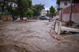 Μάνδρα: Ξεκίνησε το αντιπλημμυρικό έργο διευθέτησης του χειμάρρου της Αγίας Αικατερίνης