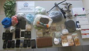 Εξαρθρώθηκε κύκλωμα διακίνησης ναρκωτικών σε Λάρισα, Πιερία και Θεσσαλονίκη