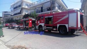 Αγρίνιο: Στο νοσοκομείο από φωτιά σε κουζίνα σπιτιού – Αγώνας δρόμου από τους πυροσβέστες [pic]