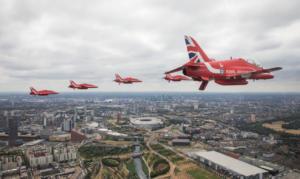 Εντυπωσιακές εικόνες από τους εορτασμούς για τα 100 χρόνια της RAF