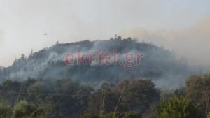 Κρήτη: Χιλιάδες στρέμματα έγιναν στάχτη στη μεγάλη φωτιά