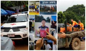 Ταϊλάνδη: Απεγκλωβίστηκαν τα τέσσερα πρώτα παιδιά – Συνεχίζεται τη Δευτέρα η επιχείρηση – Video
