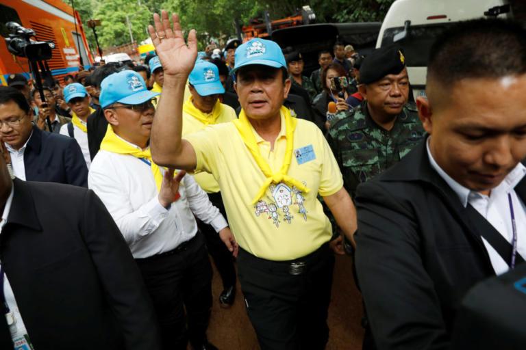 Ταϊλάνδη: Η διάσωση των παιδιών αυξάνει τη δημοτικότητα της χούντας | Newsit.gr