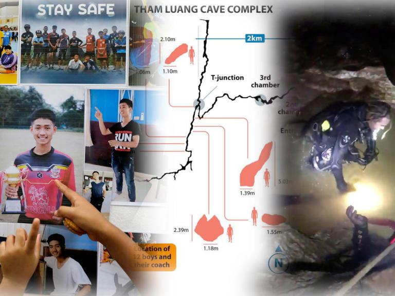 Ταϊλάνδη: Δυο δύτες για κάθε παιδί – Καρέ καρέ η επιχείρηση διάσωσης – Video | Newsit.gr
