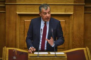 """Θεοδωράκης: Προσβλητικό παιχνίδι """"κολοκυθιάς"""" οι διπλές εκλογές τον Μάιο"""