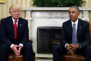 Τραμπ: Ο… Ομπάμα φταίει για την Ρωσική ανάμιξη στις εκλογές