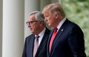 Η Γερμανία χαιρετίζει τη συμφωνία Γιούνκερ – Τραμπ: «Σημαντική πρόοδος»