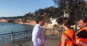 Τσίπρας: Ανείπωτη θλίψη – Η επίσκεψη του Πρωθυπουργού στο Μάτι – video