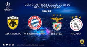 Champions League: Το προφίλ των αντιπάλων της ΑΕΚ!