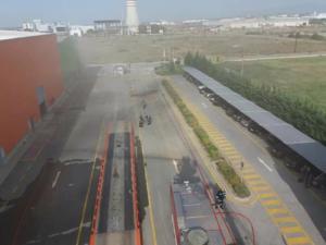 Κομοτηνή: Οι εικόνες από τη φωτιά στο εργοστάσιο ανακύκλωσης μπαταριών της Sunlight [pics]
