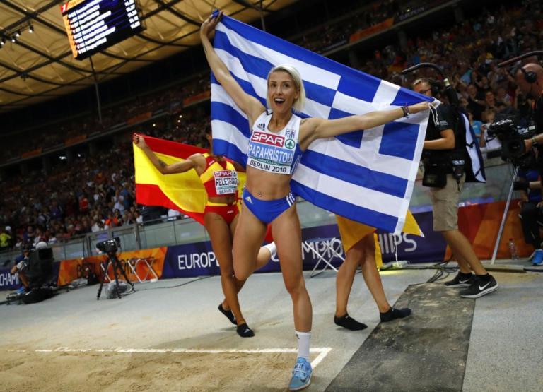 «Κυρίαρχη» η Παπαχρήστου στο τριπλούν! Χρυσό μετάλλιο για την Ελλάδα – videos | Newsit.gr