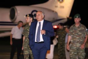 Αμανατίδης: Ο πόνος για τις πυρκαγιές και η ικανοποίηση για τους δύο στρατιωτικούς συνυπάρχουν στο σημερινό εορτασμό