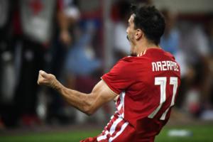 Ολυμπιακός – Λεβαδειακός: Νίκη… μόνο 1-0 για τους Πειραιώτες με «τρελό» Λάζαρο! – video