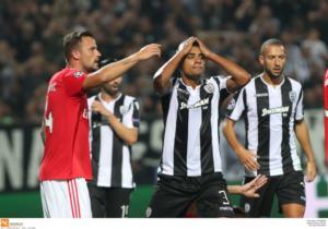 ΠΑΟΚ – Μπενφίκα: Όνειρο ήταν και πάει! Συντριβή κι αποκλεισμός για τον Δικέφαλο από το Champions League