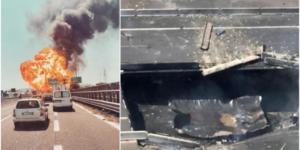Καραμπόλα με εκρήξεις κοντά στο αεροδρόμιο της Μπολόνια! Τουλάχιστον δύο νεκροί, δεκάδες τραυματίες – Κατέρρευσε γέφυρα – video