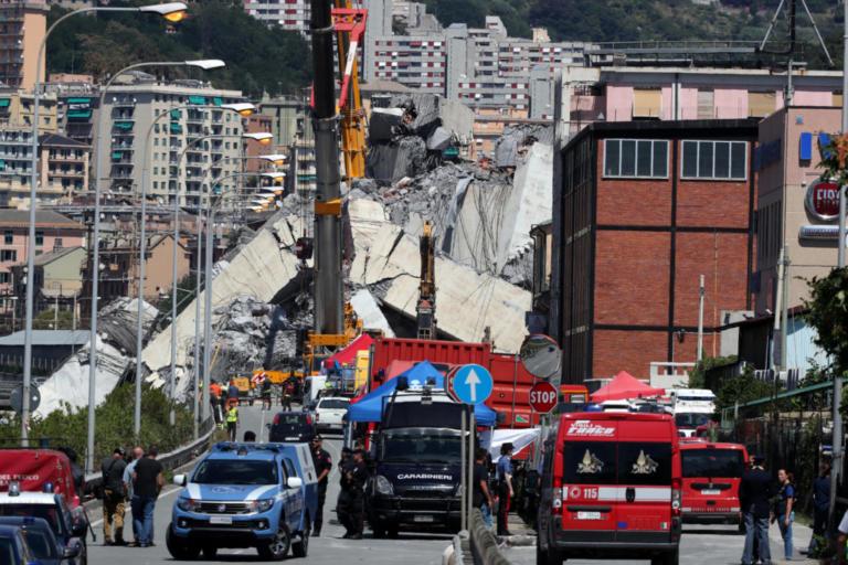 Γένοβα: Στο στόχαστρο η εταιρεία κατασκευής της γέφυρας του θανάτου! – video | Newsit.gr