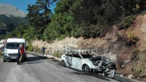 Αμφίκλεια: Έβλεπε το αυτοκίνητό του να καίγεται σε αυτό το σημείο – Οι εικόνες στο μοναστήρι που γιόρταζε [pic]