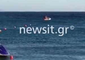 Μύκονος: Έκαναν έρωτα πάνω στο jet ski μέρα – μεσημέρι! video