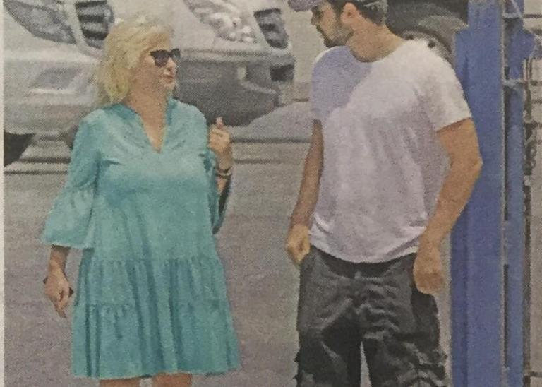 Αγγελική Νικολούλη: Διακοπές με τον γιο της [pics] | Newsit.gr