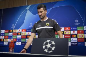 Βίντι – ΑΕΚ, Ουζουνίδης: «Πρέπει να ματώσεις για το Champions League»