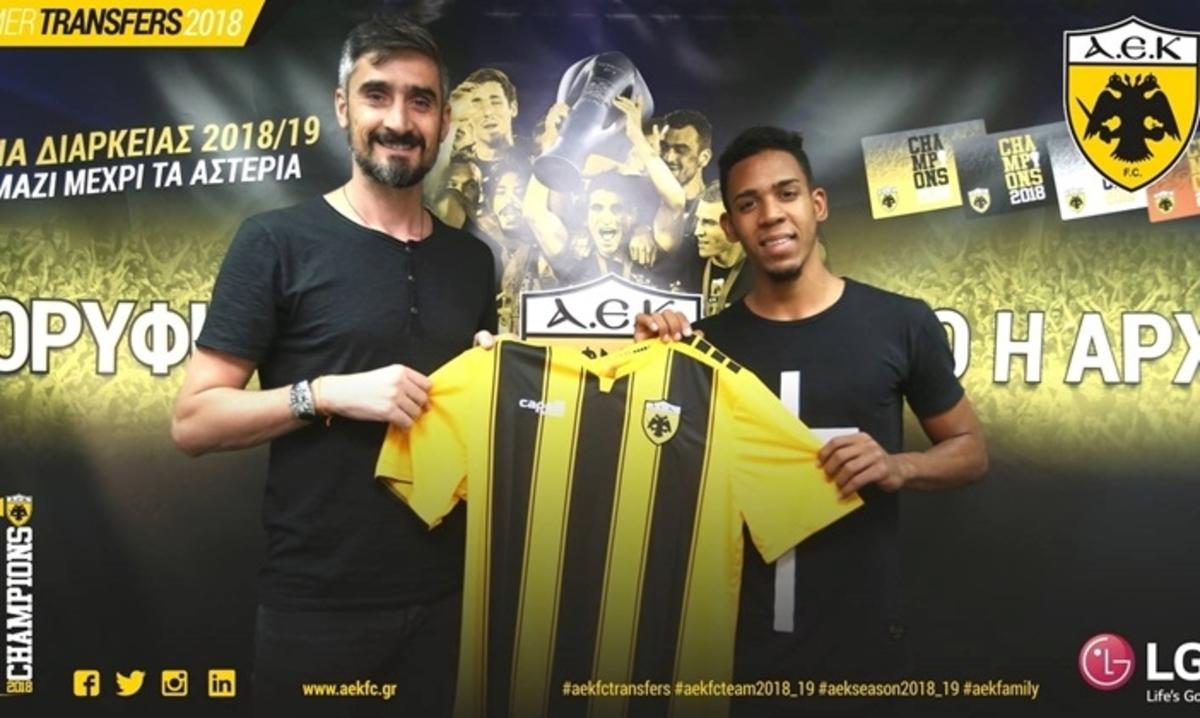 Βίτορ… πενταετίας στην ΑΕΚ! «Το πρώτο σημαντικό βήμα στην καριέρα μου» | Newsit.gr