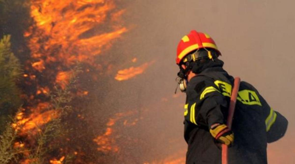 Μεγάλη φωτιά στην Κρήτη – Συναγερμός στο Ρέθυμνο | Newsit.gr