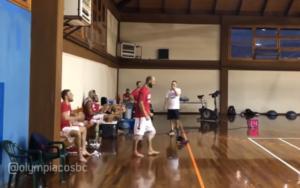 Ολυμπιακός: Ο Σπανούλης τα βάζει και από τον πάγκο! video