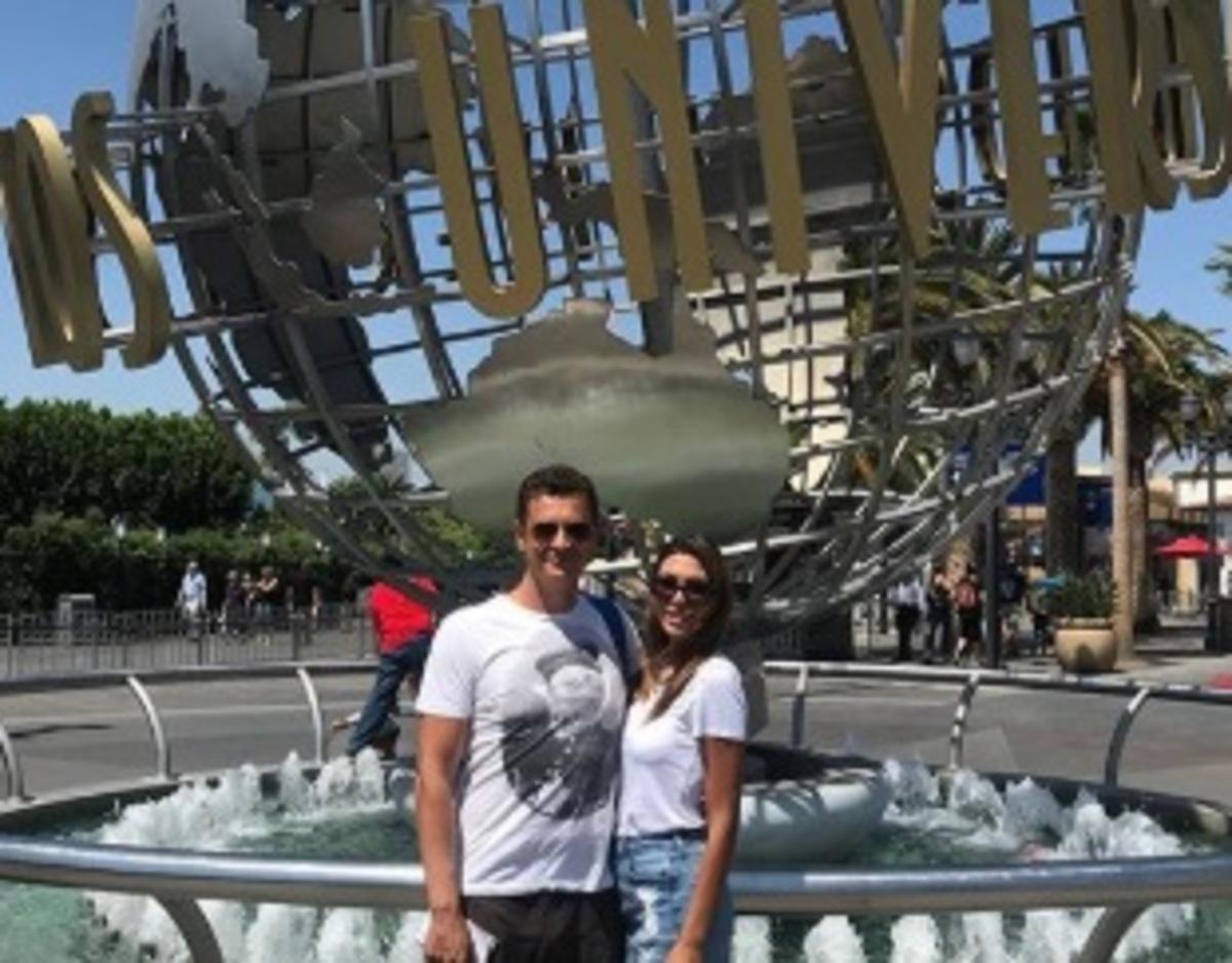 Αντώνης Σρόιτερ – Ιωάννα Μπούκη: Ο μήνας του μέλιτος στις Η.Π.Α και το δικό τους αστέρι στο Walk of fame! [pics] | Newsit.gr
