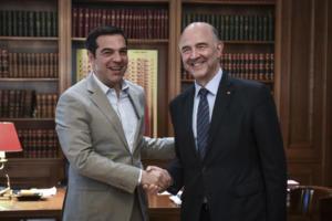 Μοσκοβισί: Η Ελλάδα στο δρόμο για μεγαλύτερη οικονομική και πολιτική ελευθερία