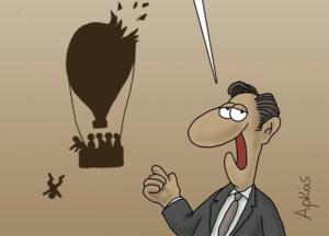 Αρκάς για παραίτηση Τόσκα: Κυβέρνηση όπως… αερόστατο [pic]