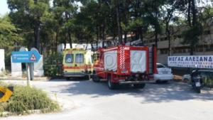 Θεσσαλονίκη: Ανήλικοι έβαλαν φωτιά στο κέντρο φιλοξενίας στην Πυλαία