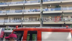 Φωτιά σε διαμέρισμα στην Πάτρα – Ένας άνδρας στο νοσοκομείο