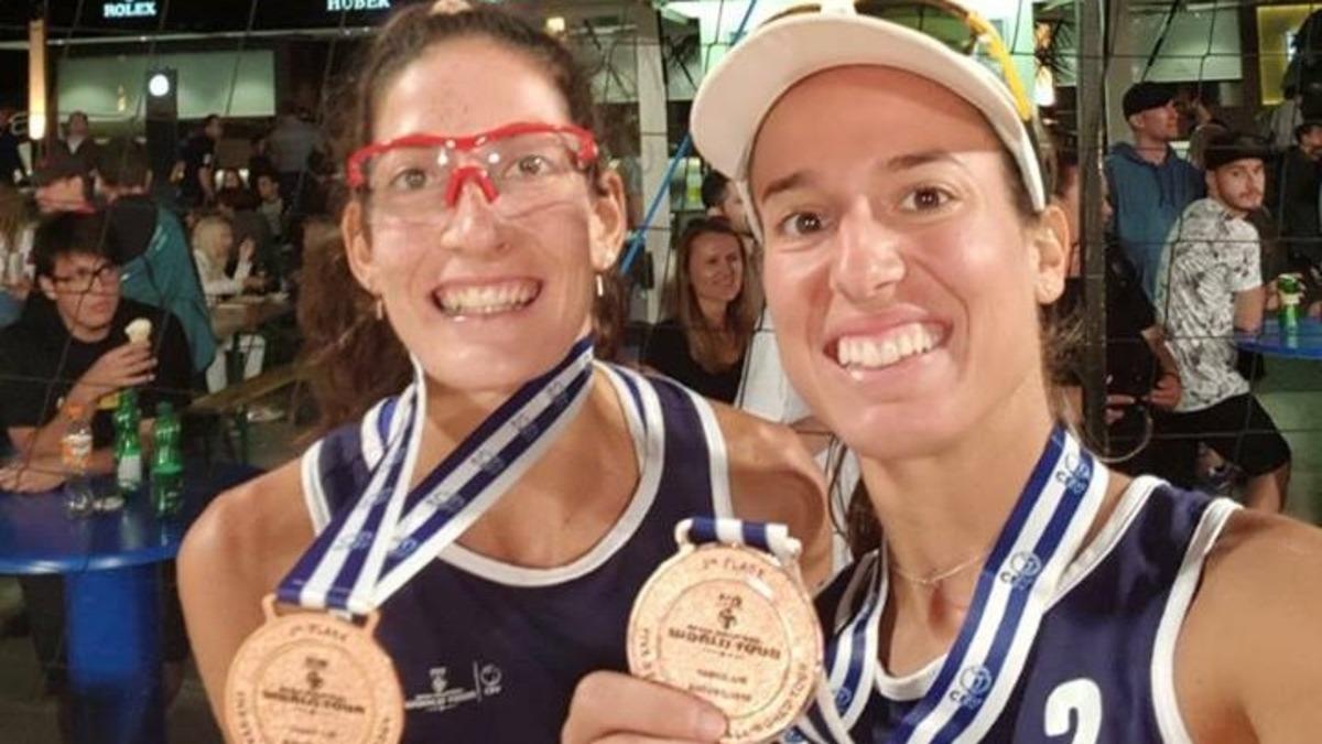 Ελληνική επιτυχία και στο μπιτς βόλεϊ! Χάλκινο μετάλλιο για τις Μαναβή και Τσοπούλου | Newsit.gr
