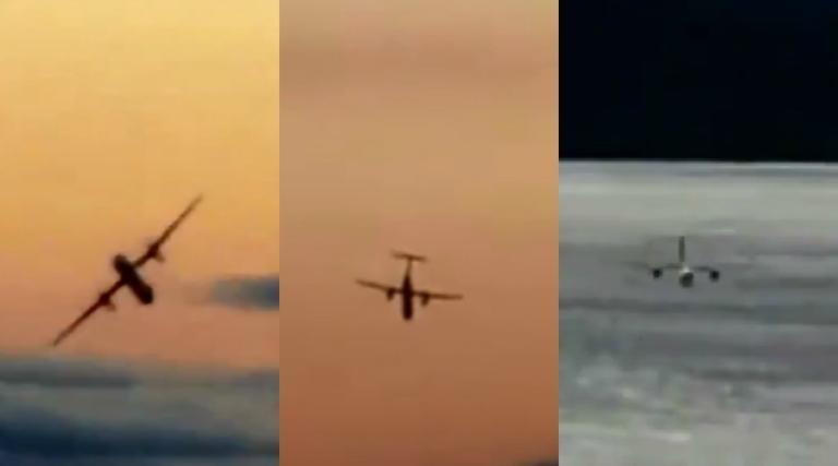 Σίατλ: Τα ακροβατικά στον αέρα και το λούπινγκ λίγο πριν την συντριβή του κλεμμένου αεροσκάφους – video | Newsit.gr