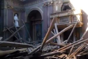 Ιταλία: Κατέρρευσε ιστορική εκκλησία στο κέντρο της Ρώμης – video