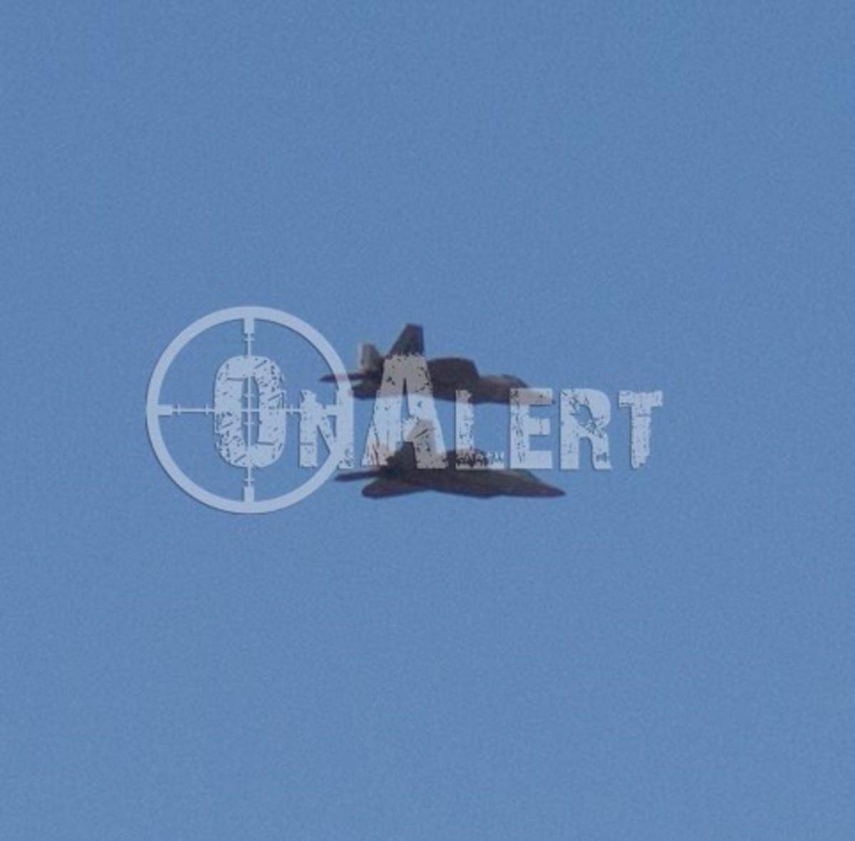 Λάρισα: Έκαναν χάζι τα F-22 Raptor τη στιγμή της καθόδου τους | Newsit.gr
